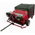 "Sweep-All (60"") 9HP Honda Powered 54 Cubic Foot Professional Lawn Sweeper"