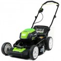 "Greenworks (21"") 80-Volt Lithium-Ion 3-In-1 Cordless Electric Lawn Mower (Mower Only - No Battery or Charger)"