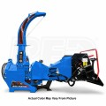 "Wallenstein (7"") 540-1000 RPM PTO Chipper w/ Hydraulic Feed & Intellifeed System - Blue"