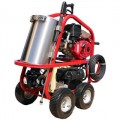 Hot2Go SH Series Professional 4000 PSI (Gas - Hot Water) Pressure Washer w/ Electric Start Honda Engine & Steam