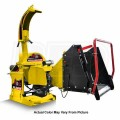 "Wallenstein (5"") 540-1000 RPM PTO Chipper w/ Hydraulic Feed - Yellow"