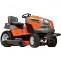 Husqvarna Garden Tractor with Electric Start — 726cc Kawasaki, 54in. Deck, Model# GTH24K54