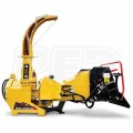 "Wallenstein (7"") 540-1000 RPM PTO Chipper w/ Hydraulic Feed - Yellow"