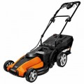 "WORX (17"") 24-Volt Intellicut Cordless Electric Push Mower"